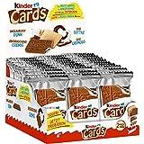 Ferrero Kinder Cards Spécialité Gaufre Barres 25,6g (Pack de 30)