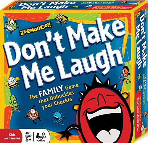 Don't Make Me Laugh! The Silly Reinvented Charades Party Game | Hilarious for Families and Kids |...