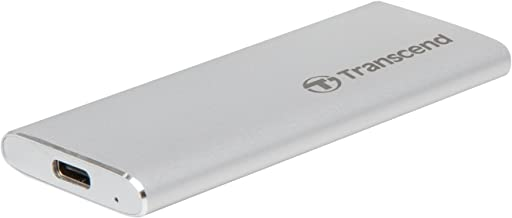 Transcend 120GB USB 3.1 Gen 2 USB Type-C ESD240C Portable SSD Solid State Drive TS120GESD240C