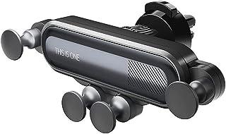 Car Bracket, Robot 360 Degree Steering adjustment Gravity Bracket Car Phone Holder (Color Black)
