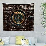 CATNEZA Viking Dragon Wandteppich Viking Dragon Comforter, Home Dekor für Schlafzimmer Dekor White 230x150cm