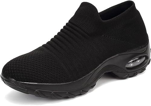 Baskets Femmes Running Dames Chaussures de Course Gym Fitness Sport Mode Trainin Sneakers