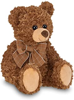 Bearington Reggie Brown Plush Stuffed Animal Teddy Bear 12 Inch 126214