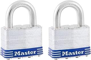 Master Lock 5T Laminated Steel Keyed Alike Padlocks, 2 Pack
