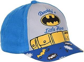 Casquette bébé/Enfant Batman Daddy's Little Hero Bleu et Noir de 9mois à 3ans