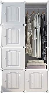 Garde-robe XINYALAMP Armoire de Portable Armoire Armoire Armoire Armoire pour Armoire de Rangement idéal Cube pour Les vêt...