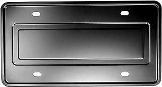 LFPartS Stainless Steel License Plate Durable Car Tag Holder Backing Reinforce Bracket (Black)