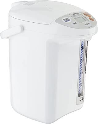 Zojirushi Micom Water Boiler and Warmer, 169 oz/5.0 L, White
