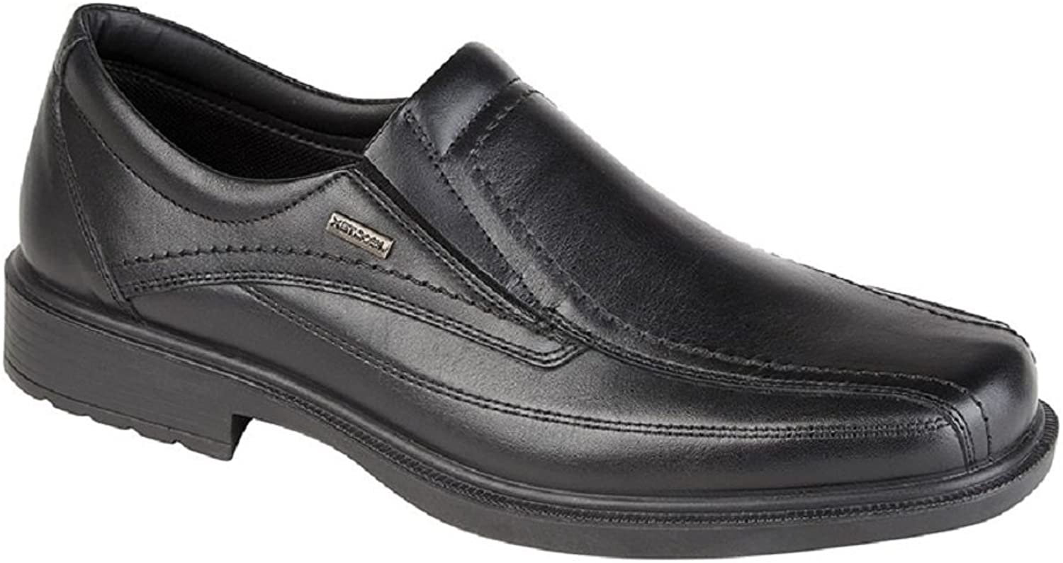 Imac Men's Twin Gusset TEX Waterproof Slip-On Leather shoes M 9581A