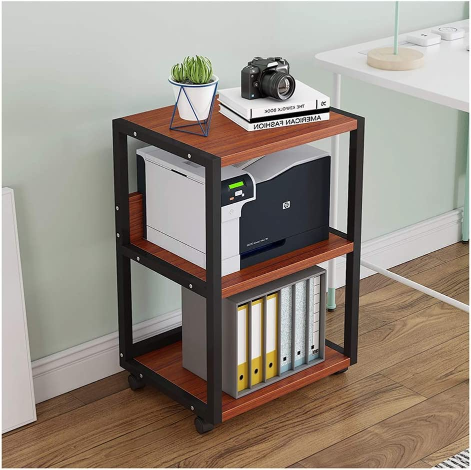 Printer online shopping Stand Creative Shelf 3 All items in the store Layers Copier Storage Rac