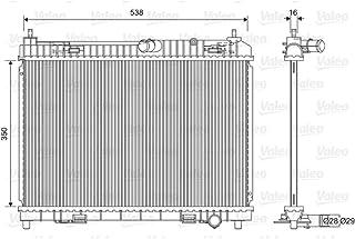 VALEO VA734333 Radiatore Raffreddamento Motore