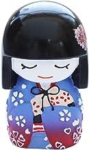 N&N Find Japan Muñeca japonesa Mai Kokeshi, color morado