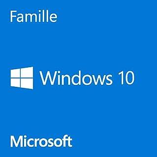 Windows 10 Famille (HOME) 32/64 bits | Licence Français | Clé d'activation..