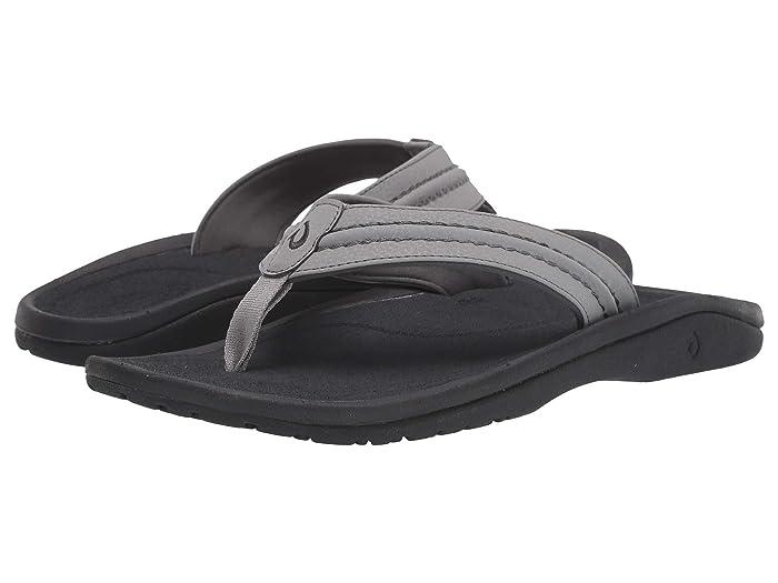 Hokua  Shoes (Sharkskin/Dark Shadow) Men's Sandals