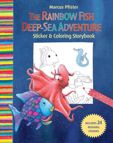 Rainbow Fish Deep Sea Adventure Sticker and Coloring Storybook