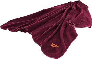Logo Chairs 235-25 Virginia Tech Hokies Fleece Throw Blanket