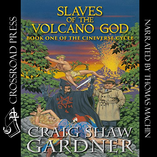 Slaves of the Volcano God audiobook cover art