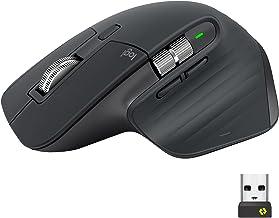 Logitech MX Master 3 Wireless Mouse for Business, Logi Bolt USB Receiver, Bluetooth, Ultrafast Scrolling, 4000 DPI Any Sur...