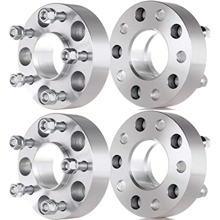 ECCPP Replacement for 2PCS 2 5 Lug Hubcentric Wheel Spacers 5x4.75 to 5x4.75 70.5mm for Ch-ev-y for Cadillac for Pontiac for GMC for Buick Series with Lip M12x1.5
