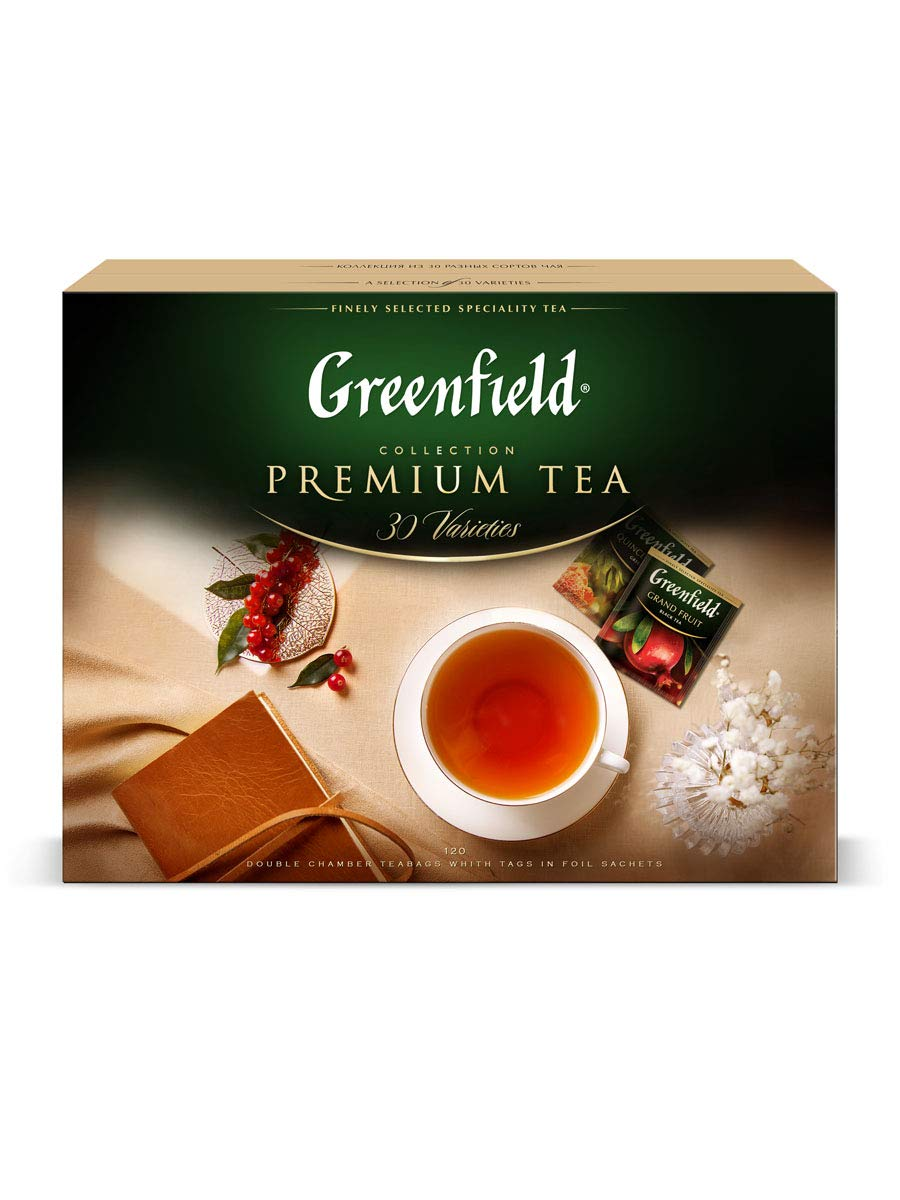 Greenfield Tea Premium Collection OFFicial shop Count service 120