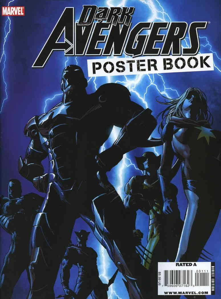Dark Avengers Poster Book #1 Marvel comic ; Inventory cleanup selling sale FN book Washington Mall