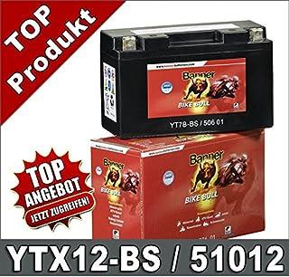 12-BS de BS 51012b Banner 51012b batería de la motocicleta