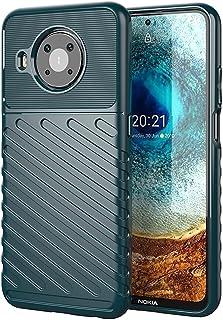 TingYR Case for Nokia X10/ Nokia X20, Ultra Slim Flexible TPU Shock Absorption, Anti-Scratch, Premium Flexible Rubber Cove...