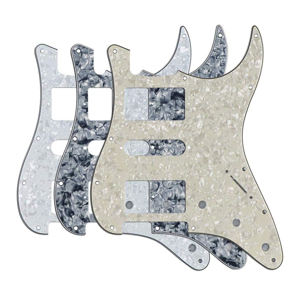 Guitar Great interest Parts New Max 80% OFF 3PCS 11 Pickguard Pick Guard Strat Holes