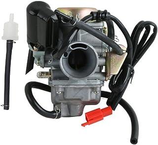 PD24J Carburetor Carb For GY6 125 150cc Scooter ATV Kazuma Baja Kymco Taotao SunL Tank Gokart
