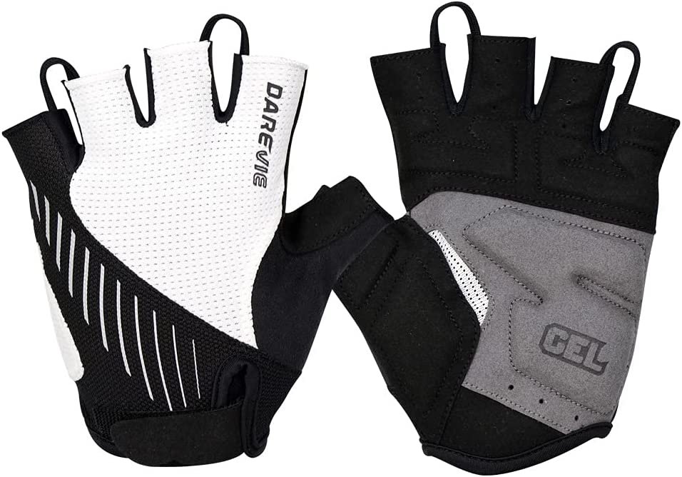 Cycling Bike Gloves Padded Bicycle Shock-Abso Half Finger lowest price safety