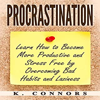 Procrastination audiobook cover art