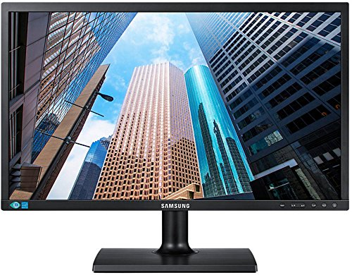 Samsung S24E200BL 59,94 cm (23,6 Zoll) Monitor (VGA, DVI, 5ms Reaktionszeit, 1920 x 1080 Pixel) schwarz