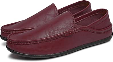 Men Moccasins Loafers Casual Boat Shoes Breathable Driving Flats Footwear