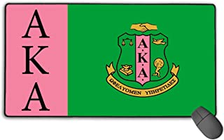 Alpha Kappa Alpha Flag Large Gaming Mouse Pad