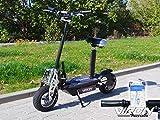 Viron E Scooter mit Sitz (abnehmbar) | Elektro Scooter Erwachsene | Elektroroller faltbar | E Roller mit 800W Motor für bis zu 32km/h | Idealer...