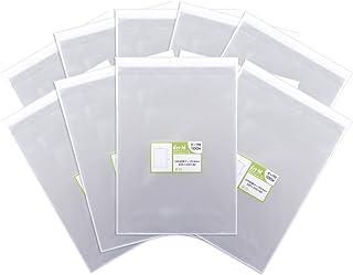【国産】テープ付 A4【 A4用紙/DM用 】透明OPP袋(透明封筒)【1000枚】30ミクロン厚(標準)225x310+40mm