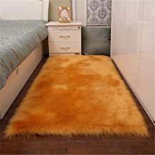 Best gold fur rugs Reviews