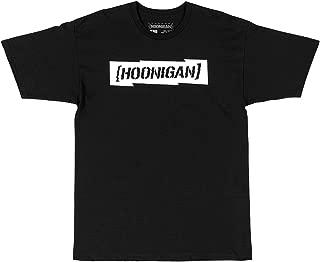 Hoonigan Gymkhana 10 Censor Bar Short Sleeve T-Shirt, for Drifting, Mechanics, Car & Truck Lovers, Gear-Heads Gift