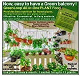 For active & healthy growth of plants. Best suited for balcony (Outdoor) plants, home gardens, roses. Greener Leaves, more flowering, more growth. NPKS fertilizer fortified with 7 special micro-nutrients essential for plant growth. Works in any soil ...