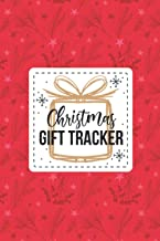 Christmas Gift Tracker: Holiday Gift Planner - Christmas Shopping Gift Tracker Notebook