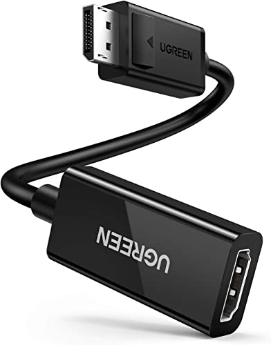 wholesale UGREEN DisplayPort popular to HDMI Adapter 4K 60Hz Male to Female DP to HDMI Converter Video Display Cord Compatible with lowest HDTV Monitor Projector Computer sale