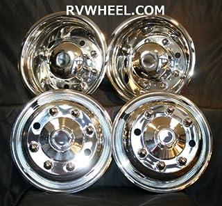 """beico Hubcaps 19.5"""" 8 Lug Wheel Simulators f 650 4300 4400 m2 Wheel 28680"""