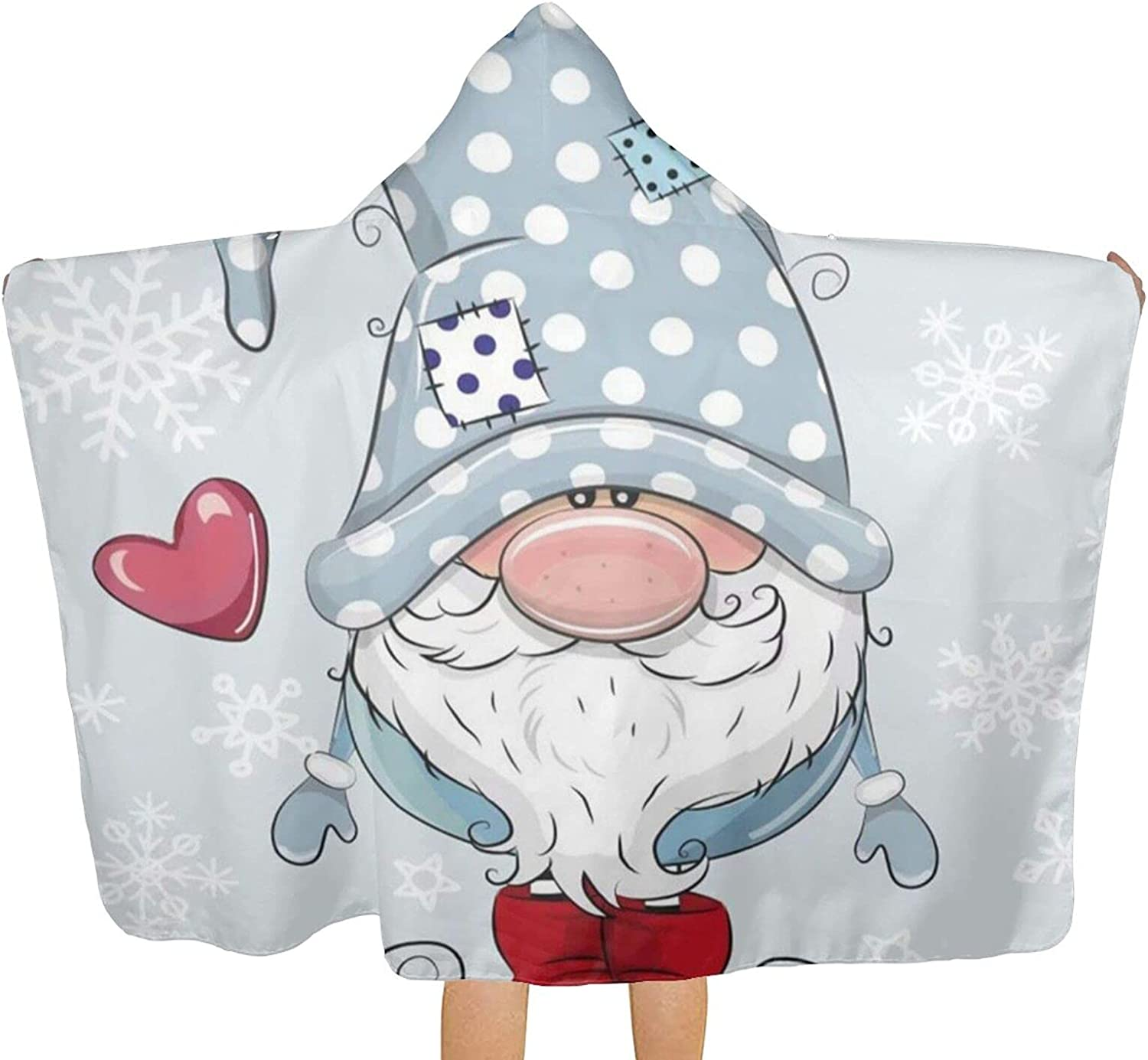 MESCCHSK Cute Gnome Printed Beach Max 47% OFF Towel Hood Max 75% OFF fo Bath Towels with