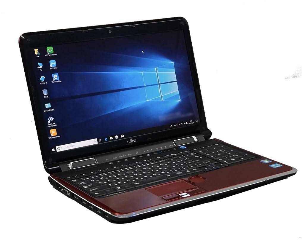 市の中心部上げるサスペンション[ WPS Office ] 富士通 LIFEBOOK AH77/C Win10 Pro Core i7 2630QM 2.0GHz メモリ4GB HDD750GB レッド [ ブルーレイ / 無線LAN ]