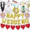 JINSELF 結婚式 吊るせる風船 バルーン パステル パステルカラー ペーパーフラワー ポンポン フォトプロップス プロップス ガーランド 誕生日 飾り付け 飾り 装飾 セット ポンプ 空気入れ付き ゴールド KB