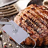 J.CREATER BBQ Branding Iron with Changeable Letters Barbecue Steak Names Tool Outdoor
