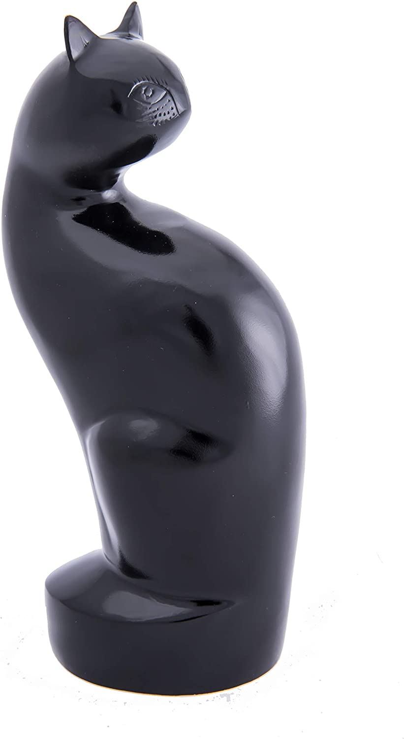 My Pet's Paradise My Cat Forever Statuette Urn (Black)