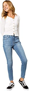 Rsq High Rise Ankle Skinny Girls Medium Wash Jeans