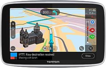 TomTom Go Premium, GPS para coche, 5 pulgadas, con Actualizaciones via Wifi,Trafico y Radarespara Toda la Vida Mediante Tarjeta Sim Incluida, Mapas del Mundo, Navegación Último Kilómetro e Ittt