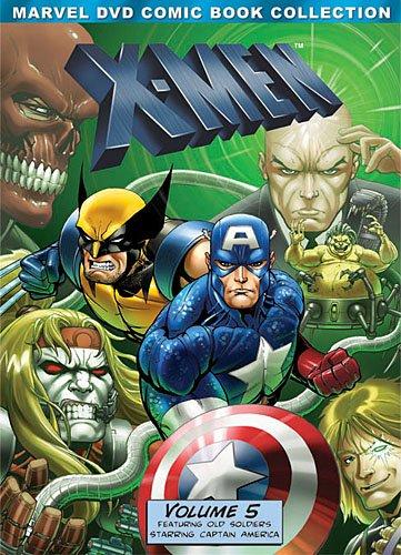 X-Men: Volume Five (Marvel DVD Comic Book Collection)
